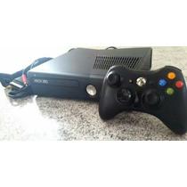Xbox 360+slim+travado+34 Jogos+dlcs