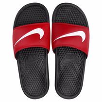 Chinelo Sandália Nike Benassi Swoosh Original + Nota F