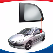 Janela Fixa Traseira Lado Esquerdo Peugeot 206 99/08