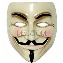 Mascara V For Vendetta Material Plastico De Alta Resistencia