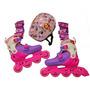 Set Rollers Princesa Sofia Disney Extensibles 35-38