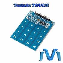Teclado Touch Tactil Capacitivo 4x4 Digital Sensor Modulo