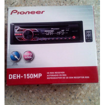 Reproductor Pioneer Deh-150mp Mp3/wma Auxiliar