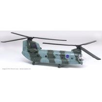 Miniatura Metal Helicóptero Militar Maisto - Ch-47 Chinook