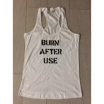Harley Quinn Playera Replica Burn After Use