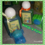 Gel Antibacterial Y Figura Safari Recuerdos Baby Shower