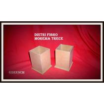 Porta Lápices En Fibrofacil Con Base Precio X Unidad