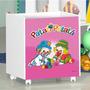 Baú Infantil Patati Patata Rosa - J & A Móveis