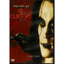 El Cuervo The Crow Brandon Lee Cine Culto Comics Dvd