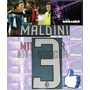 Estampado Ac Milan Local 08-09, #3 Maldini Vinil