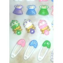 Apliques De Foami Termoformado Baby Shower Precio X Docena