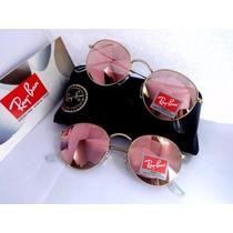 Óculos Rb 3447 Round Metal Masculino Feminino Pronta Entrega