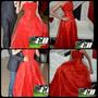 Exclusivo Vestido De 15 Años Rojo