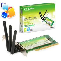Tarjeta Inalambrica Pci Tp-link Tl-wn951n 300mbps Wifi 3 Ant