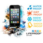 Funda Lifeproof Apple Iphone 5 Contra Agua Polvo Golpe Caida