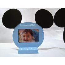 Portaretrato Souvenirs Mickey Y Minnie Con Foto.