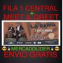 Entradas La Barra Fila 1 Central + Meet&greet + Envio Gratis