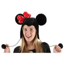 Gorro De Minnie, Mimi Mouse Para Adultos, Envio Gratis