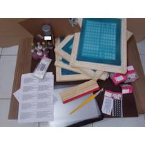 Fabrica De Peliculas De Renda Kit 4 Telas+materiais Completo