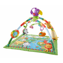 Tapete Bebê Fisher-price Rainforest Melodies E Lights Deluxe