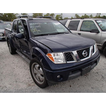 Nissan Frontier 06 Motor 4.0 Desarmo Autopartes Transmision