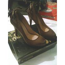 Zapatos Tacon Dama Talla 36 Y Talla 38