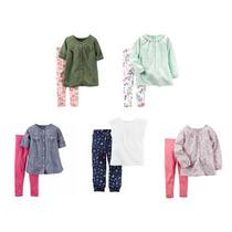 Conjuntos Carters Nena O Nene, Chicos, Pantalon Y Camisa