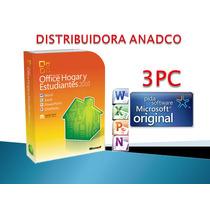 Office 2010 Hogar Y Estudiantes 3 Pc - Caja Sellada Factura