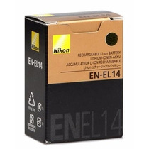 Bateria Nikon En-el14 E En-el14a