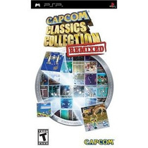 Capcom Classics Collection Remixed Psp -- Mannygames