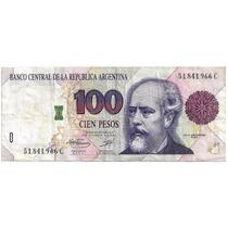 100 Pesos Convertibles Con Roseta Fernandez / Ruckauf B3082