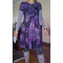 Vestido De Seda Fria