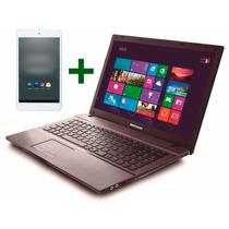 Notebook Bangho Max Intel Dual 4gb 15.6 + Tablet De Regalo!!
