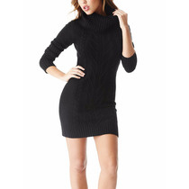 G By Guess Vestido Talla M Color Negro