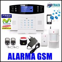 Alarma Dual Gsm Inalambrica Casa Y Negocio