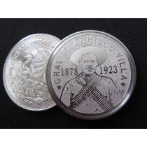 Moneda Francisco Pancho Villa 1878 1923 De Regalo Capsula