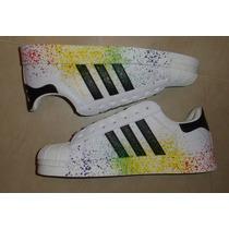 Kp3 Zapatos Adidas Superstar Pride 35 Al 43 Damas Caballeros