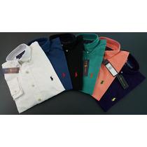 Camisas Polo Ralph Lauren Custom Fit Manga Corta Y Larga