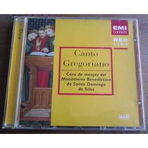 Canto Gregoriano Coro De Monjes Cd Holandes 1982 Daa