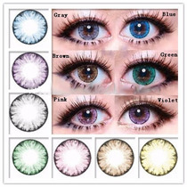 Pupilentes Eos Moon Originales Big Eyes Doll Semestrales