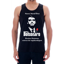 Camisa, Regata Estampa Don Bolsonaro Esterco Da Vagabundagem