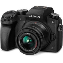 Câmera Panasonic Dmc-g7 4k 14-42mm Preto
