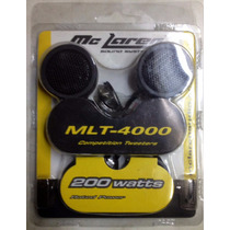 Tweeters Mclaren Competition Sound -mlt-4000 - 200 Watts