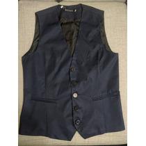 Chalecos Slim Fit: Azul Navy (m) Y Acero(s) A Sólo S/ 49