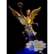 Figura Angel De La Independencia Ciudad Mexico Df Resina