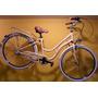 Bicicleta R-28 Raleigh Clasic De Luxe Dama Aluminio 3v Beige