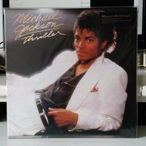 Lp Michael Jackson - Thriller 180gr Vinil Novo Lacrado