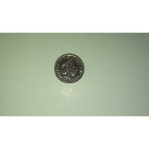 Moeda Da Rainha Elizabeth Ii 2012 Five Pence, Níquel 13mm Bc