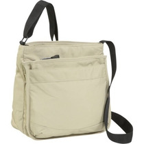 Bolso Derek Alexander Top Zip Multi Comp Bolsa Tan