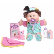Muñeca Cabbage Patch Kids Babies - Caucasian Girl Brunette